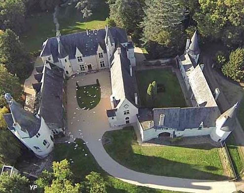 Le Manoir de Launay et son architecture caractéristique en S retourné