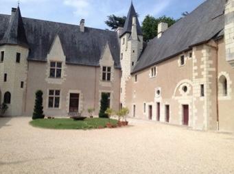 La Cour intérieure du Manoir de Launay