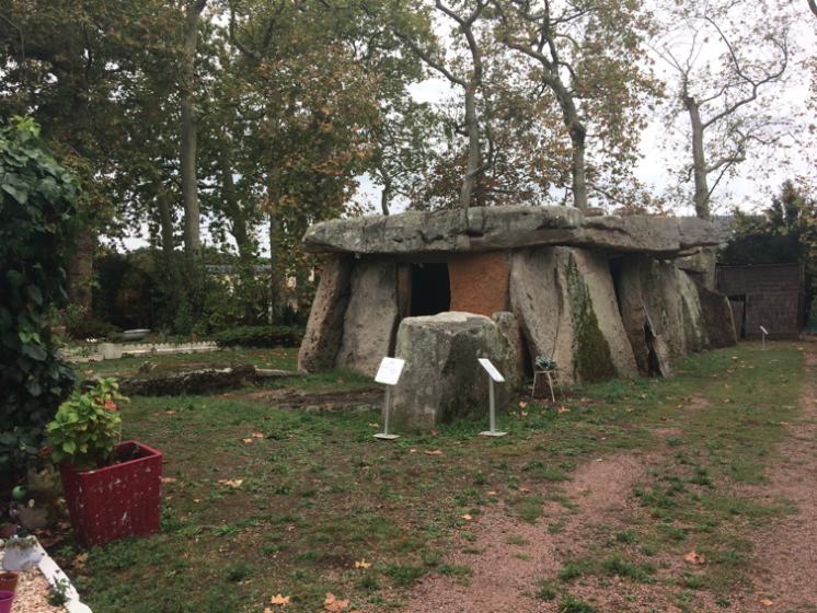 le dolmen de Bagneux